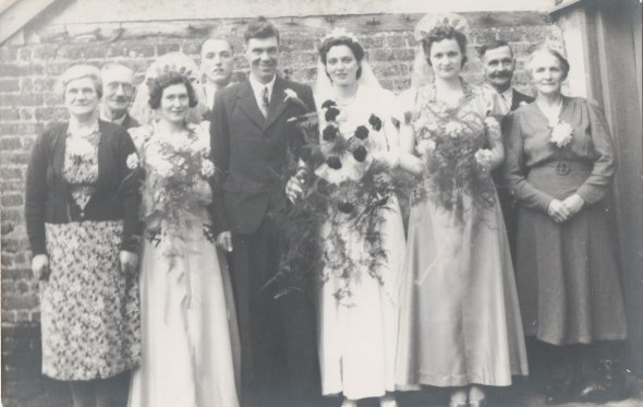 Wedding of George Cobbold & Mabel Proctor